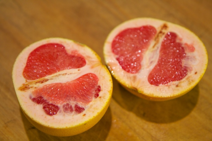 Ruby grapefruit, in all its glory