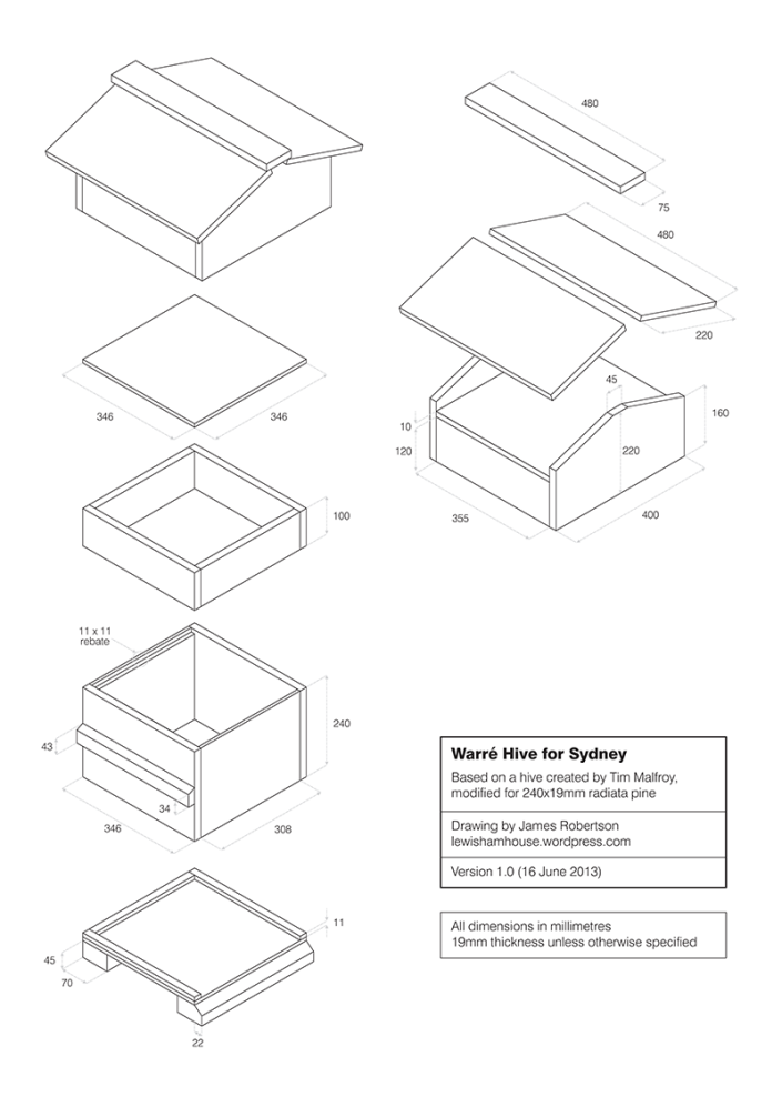 Design plans, click down download a PDF.