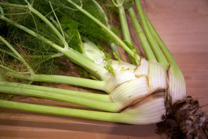 Florence fennel -- delicious!