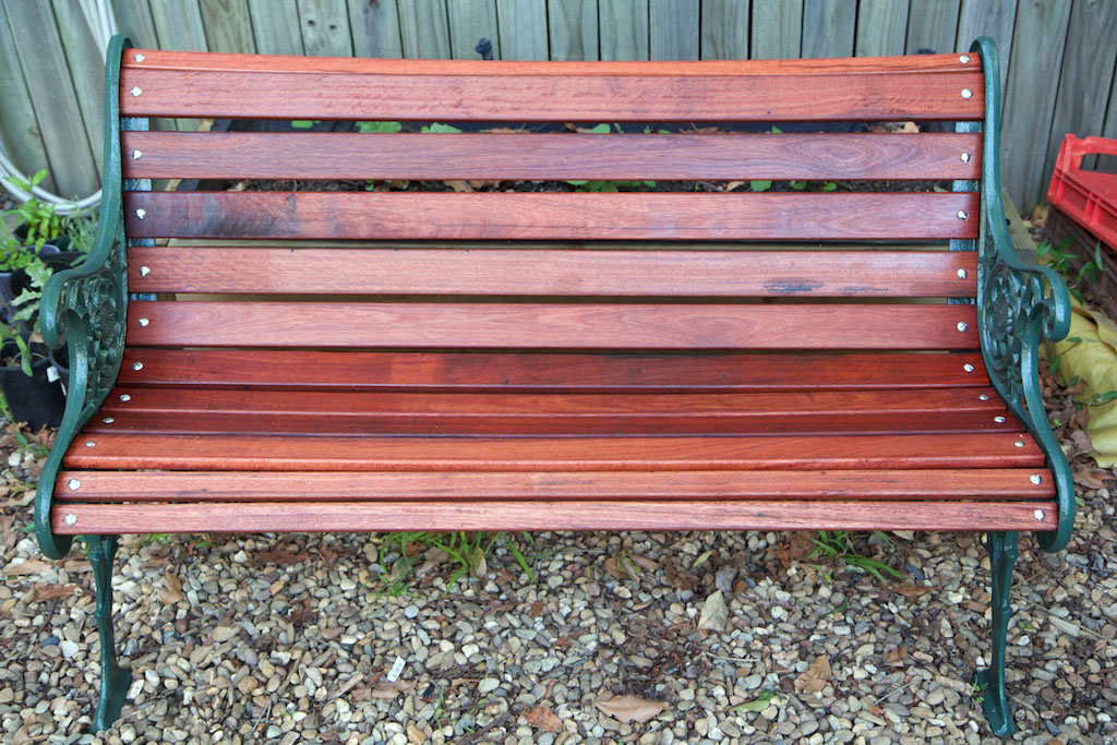The Rescued Garden Bench, As Good As New!